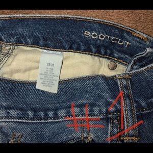 American Eagle boot cut jeans Size 29x32